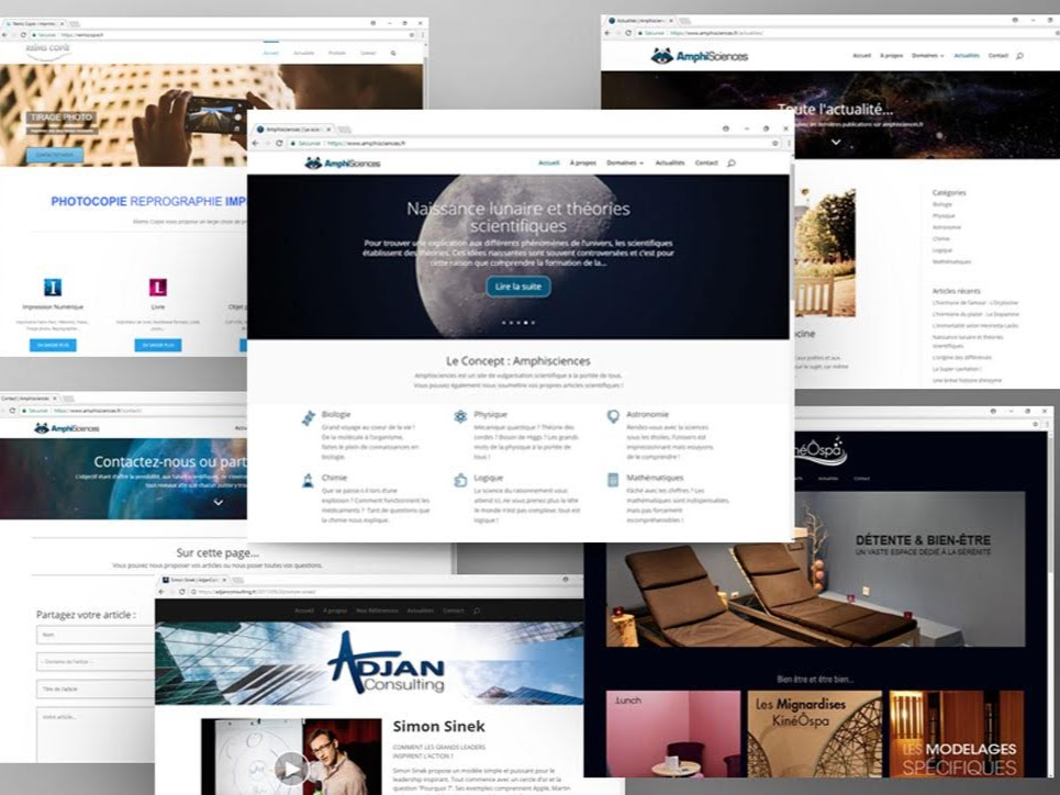 Image Web design