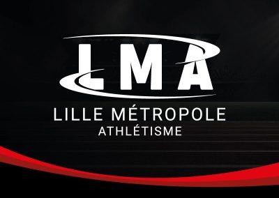 Logo Lille Métropole Athlétisme