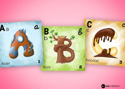 Alphabet pour enfant