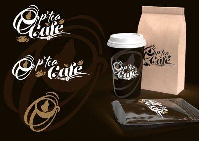 "Création du logo ""Ô p'tea Café"""